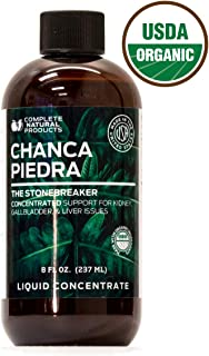 Organic Chanca Piedra Concentrate & Extract 8oz - Phyllanthus Niruri - Natural Liquid Stone Breaker & Crusher Tincture