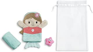 Demdaco Baby 3 Piece Bath Gift Set, Mermaid