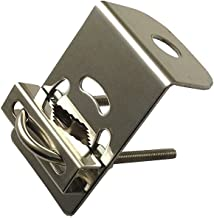 Anteenna TW-CR Mount Bracket Stainless Steel 16mm Hole For L Type UHF Female ( SO-239 ) For 144/440MHz Ham Mobile Antenna