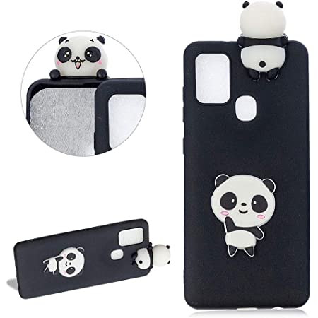 Daskan Panda 3d Karikatur Silikon Hülle Für Samsung Elektronik