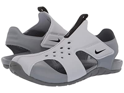 Nike Kids Sunray Protect 2 (Little Kid) (Wolf Grey/Black/Cool Grey) Boys Shoes