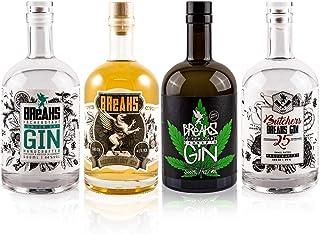 Breaks Gin 4er Set - Premium - Reserve - Cannabis - Butchers - Handmade Gin - 4 x 0,5 L