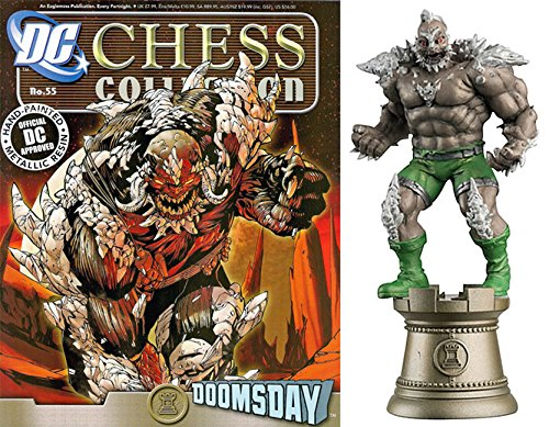 dc comics Chess Figurine Collection Nº 55 Doomsday