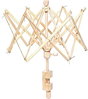 かせくり器 糸巻き器 糸繰り器 ウッド製 ワインダー 折りたたみ式 ワインディング マシーン (ウッド)