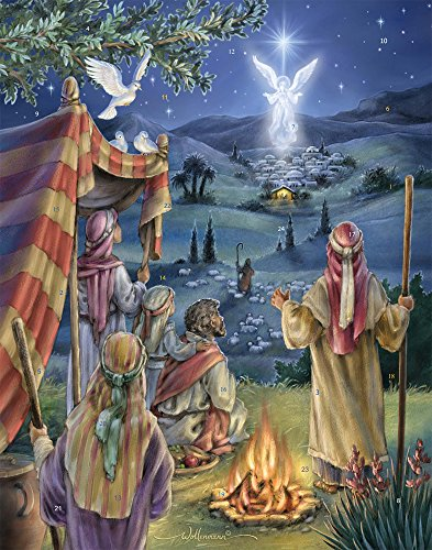 Vermont Christmas Company Following The Star Advent Calendar with Nativity Story