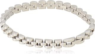 silver Stainless Steel 316L Bracelet for Men…