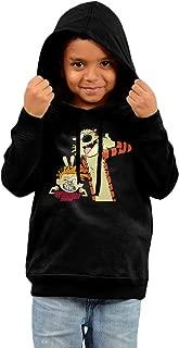 Toddler Designer Calvin And Hobbes 100% Cotton Long Sleeve Hoodies Sweater