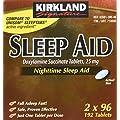 Kirkland Sleep Aid Doxylamine Succinate 25 mg, 192 tablets