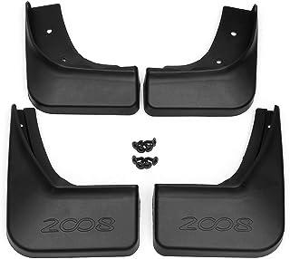 HUAQIEMI 4Pcs Car Mudguards Mud Flaps Full Protection Premium Splash Guard Styling Accessories For Suzuki SX4 2007-2013 Front Rear Set Moulded Fender