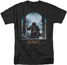 Hobbit Movie Bilbo Poster Licensed Adult T-Shirt