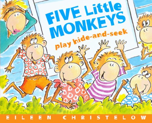 5 LITTLE MONKEYS PLAY HIDE & S