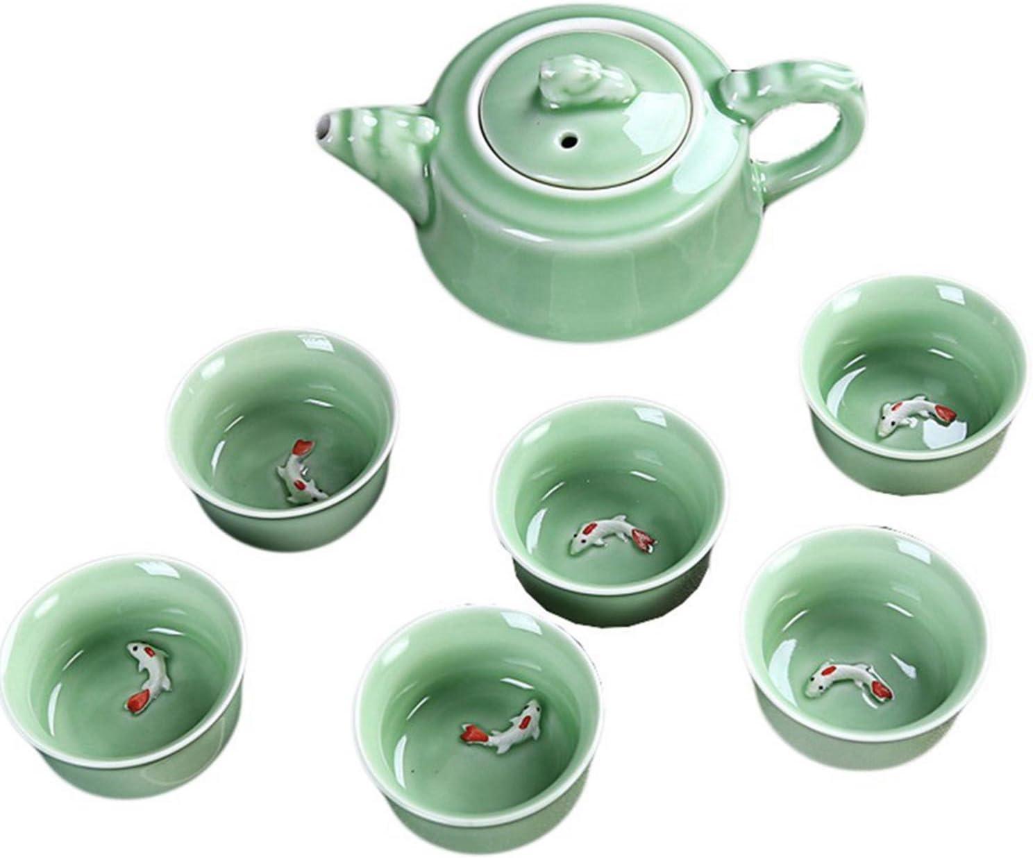 CoreLife Chinese Tea Set Manufacturer OFFicial shop Kung Cheap Fu Handmade Ceramic Porcelain