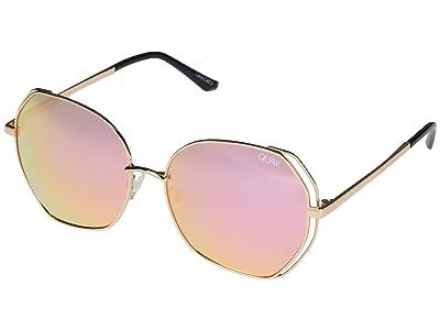 QUAY AUSTRALIA Big Love (Gold/Rose) Fashion Sunglasses