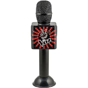 Amazon.es: Redstring MICROFONO Oficial LA Voz con Altavoces ...