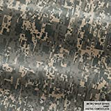Metro Wrap Series Army Digital Camouflage 5ft x 1ft (5 sq/ft) Camo Vinyl Car Wrap Film