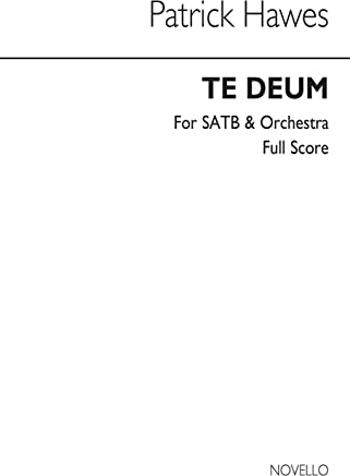 Patrick Hawes: Te Deum - Full Score Chant