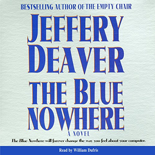 Blue Nowhere audiobook cover art