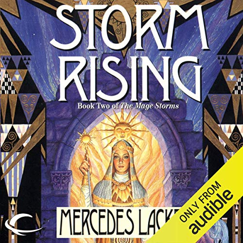 Storm Rising audiobook cover art