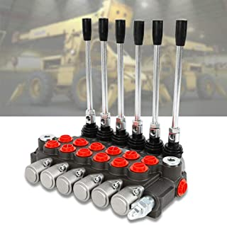 Mophorn 4 Spool Hydraulic Directional Control Valve 11gpm Double Acting Cylinder Spool