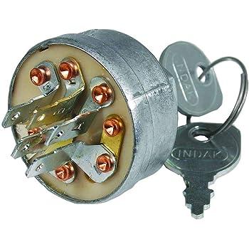 [DIAGRAM_38ZD]  Amazon.com: Indak Ignition Switch, Gravely 044767, ea, 1: Industrial &  Scientific   Indak Ignition Switch Wiring Diagram Riding Mower      Amazon.com