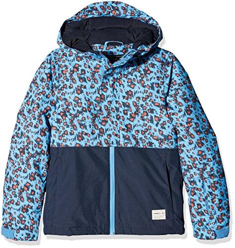 O 'Neill Gem Damen Skijacke Mädchen Blue AOP 10 Jahre Blau - Blau Aop W,(Herstellergroesse : 140)