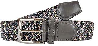 Colkor Cinturón elástico trenzado mujer y hombre, ancho 3,5 cm