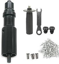Electric Rivet Gun Adapter Kit, Cordless Electric Drill Riveting Adapter Rivet Gun Nutter Setter Kit, Blind Rivet Machine ...