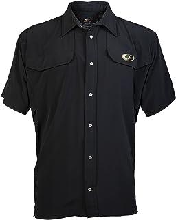 Mossy Oak Men's Short Sleeve Camp Shirt