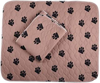 Sponsored Ad - PREMIUM CARE 2 Pack Washable and Reusable Pet Training Pad Waterproof Dog and Puppy Pads for Housebreaking,...