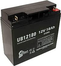SEALAKE FM12170 Battery - Replacement UB12180 Universal Sealed Lead Acid Battery (12V, 18Ah, 18000mAh, T4 Terminal, AGM, SLA) - Also Replaces APC Smart UPS 1500, Smart-UPS 3000, RBC7, RBC43, SUA1500