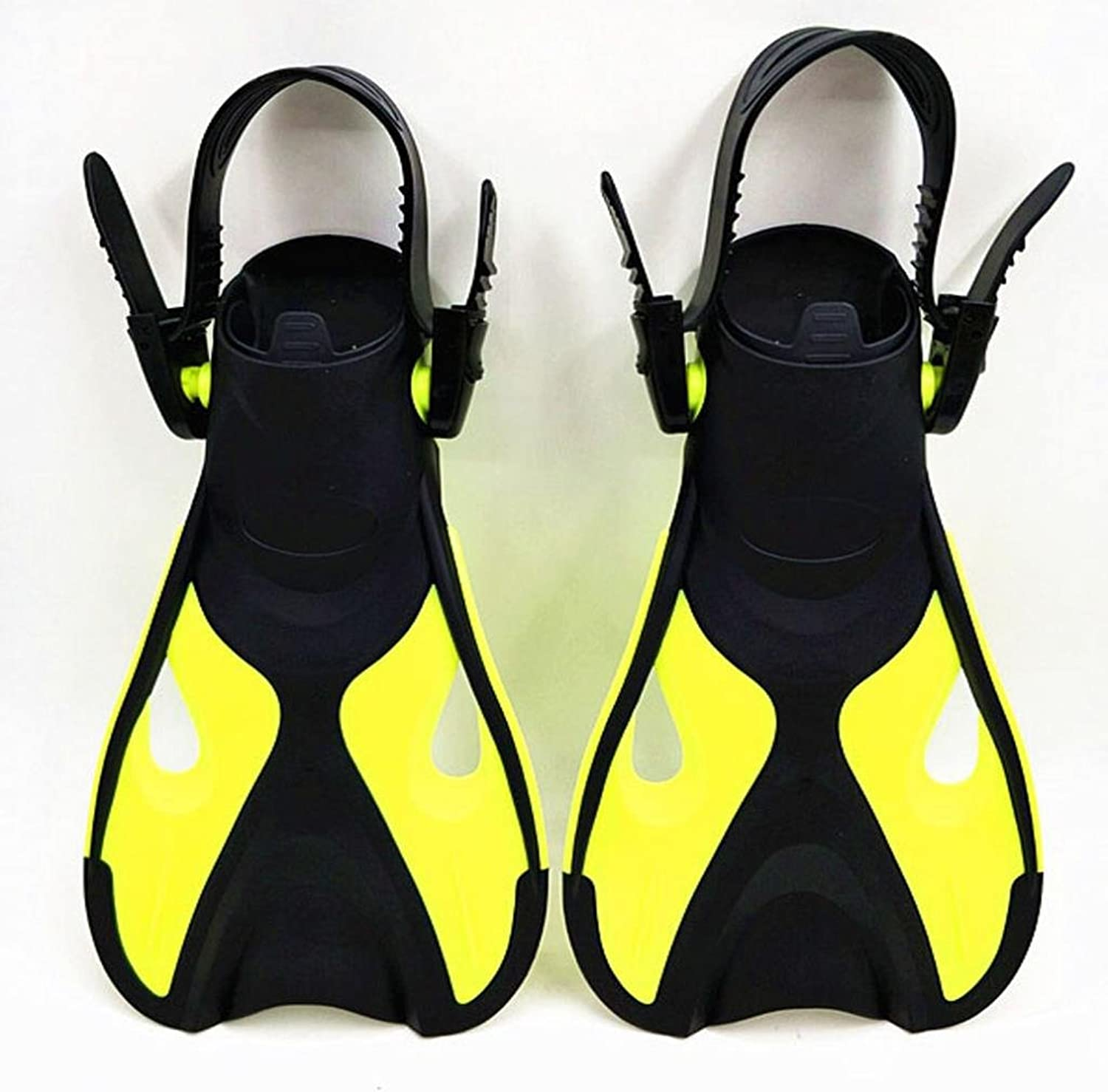 F Fityle 2Pair Snorkel Diving Swim Training Fins Kids Unisex Short Sport Foot Flipper