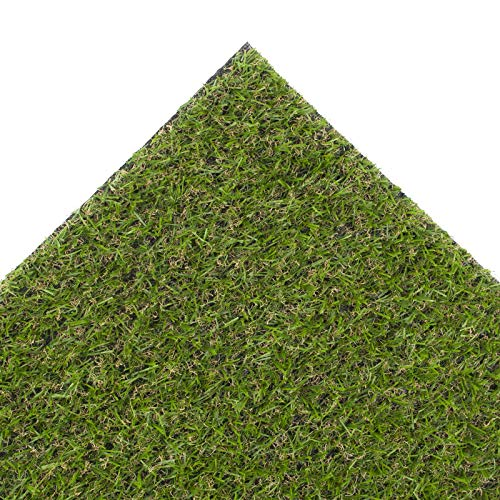 Green 19mm Thick Artificial Grass 2m Wide - Choose Your Length (2m x 2m / 6ft 6' x 6ft 6')