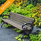 Patio Bench Assembly
