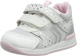 Geox B Rishon Girl A, Sneakers Basses Fille