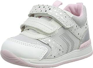 Geox B Rishon Girl A, Chaussures Premiers Pas Bébé Fille