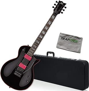 ESP LTD GH-200 Black Gary Holt Signature Electric Guitar Bundle w/Case