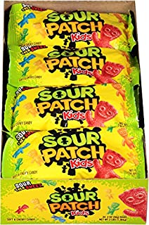 SOUR PATCH KIDS Sweet & Sour Halloween Candy - 24 Packs