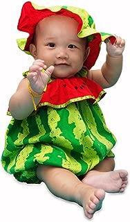 I-Fame Infant Unisex Baby Fancy Watermelon Costume 100% Cotton (Watermelon L, 15-27 months)