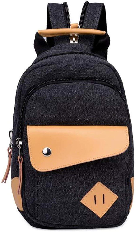 Amayay Rücksack Teenager Daypacks Vintage Stylisch Casual Backpack Erwachsene Damenmode Rucksack Einfacher Stil Vielseitig Groe Kapazitt Leinwand 21  9  30Cm (Farbe   Colour, Größe   One Größe)