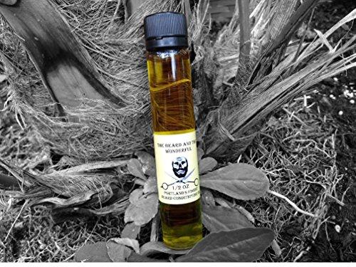 Big Beard aceite crecimiento, hidratante y acondicionador fórmula (25 ml botella) aceite de cáñamo y jojoba bajo aroma y larga duración de la barba y el maravilloso