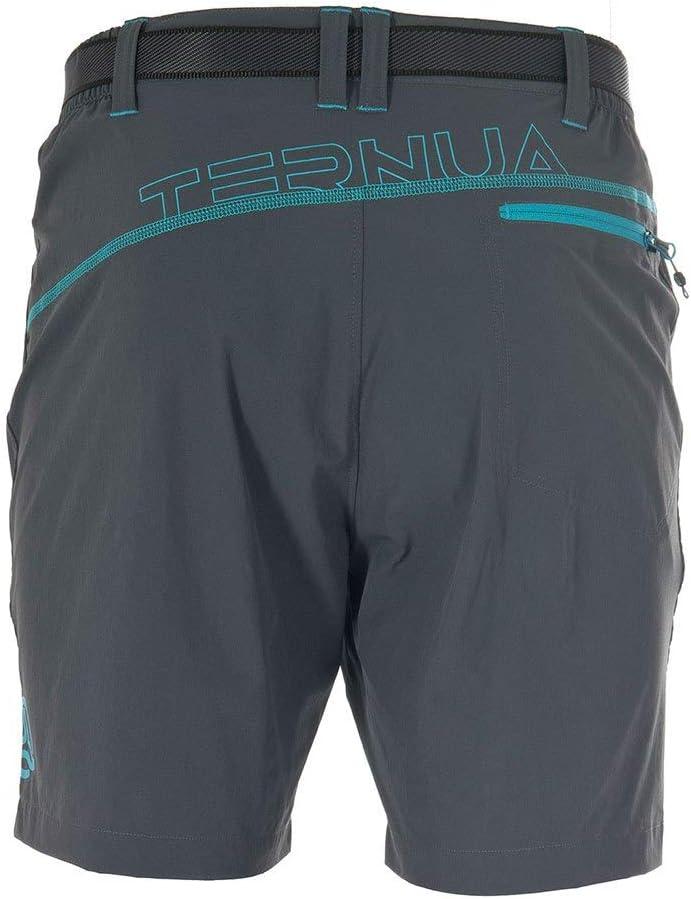 Ternua Fris - Pantalon - Homme Whales Grey/Deep Curacao