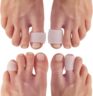 Dr Frederick's Original Gel Toe Tubes 12 Piece Variety Pack - Small, Medium and Large Sizes - Toe Protectors & Separators for Calluses - Blisters - Corns
