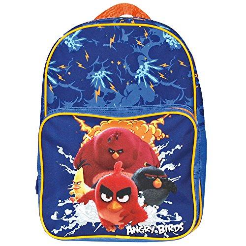 Angry Birds - Zainetto asilo e scuola bimbo Perletti 31x24x12 cm