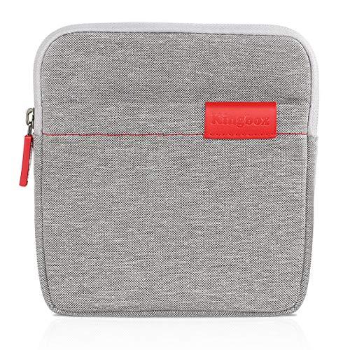 Timoom Schutzhülle Hülle Schutztasche für DVD CD Laufwerk, Taschen für tragbare DVD- & CD-Player Gray