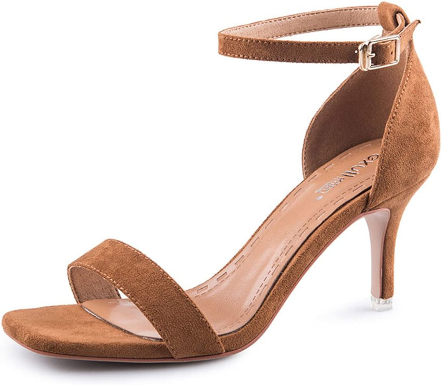 MET RXL Summer Cashmere shoes Lady with shoes Stiletto Sandals