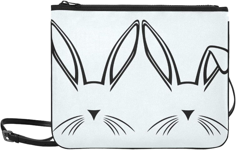 Handbag Shoulder Bag Max 69% trust OFF Double Rabbit Adjustable Kawaii Ears Cute S
