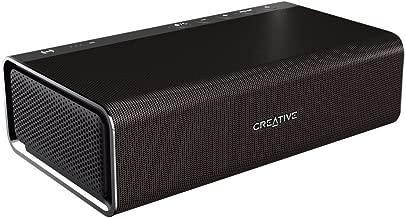 Creative Sound Blaster Roar Pro - Altavoz portátil para Dispositivos con Bluetooth y NFC (Sistema de Sonido, biamplificado de 5 Conductores, subwoofer Integrado), Color Negro