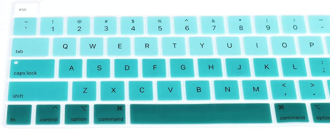2020 Release /&Pro 13 inch Model A2289//A2251 HRH Lightroom Keyboard Cover Skin,Shortcuts hotkey Silicone Keyboard Cover Protector for MacBook New Pro 16 inch Model A2141 2019 Release