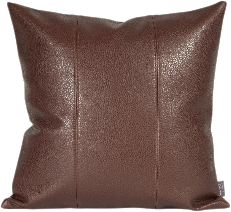 Howard Elliott 1-192 Avanti Pillow, 16 by 16-Inch, Pecan