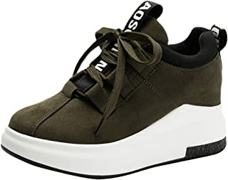for Shoes,AIMTOPPY Women Casual Outdoor Flat Sports Shoes Thick-Soled Platform Breathable Sneakers